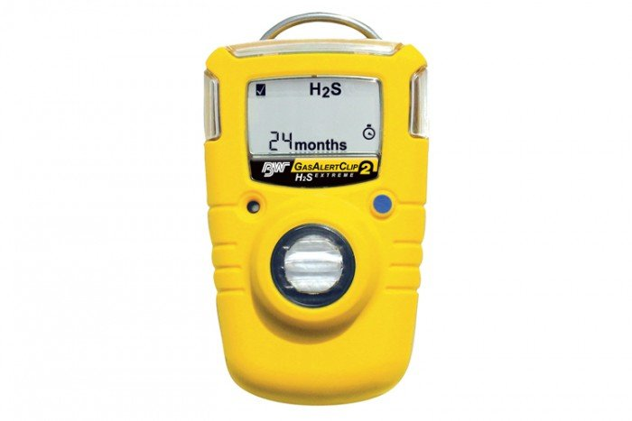 BW GasAlertClip Extreme H2S Gas Detector 5/10 (Toggle 10/15) 2 year