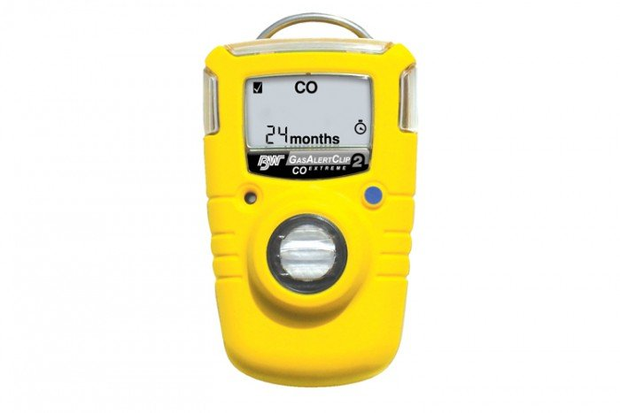 BW GasAlertClip Extreme CO Gas Detector 30/200 (2 year)
