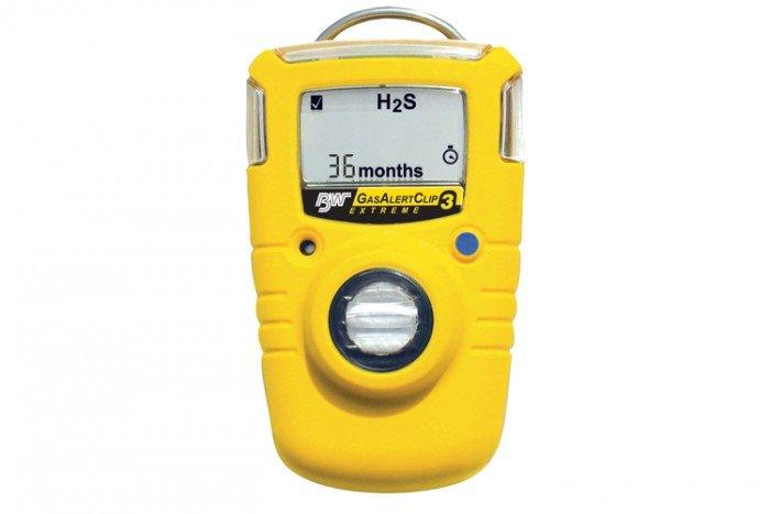 BW GasAlertClip Extreme H2S Gas Detector 5/10 (3 year)