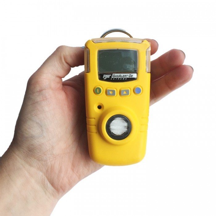 BW GasAlert Extreme O2 Gas Detector (Yellow)
