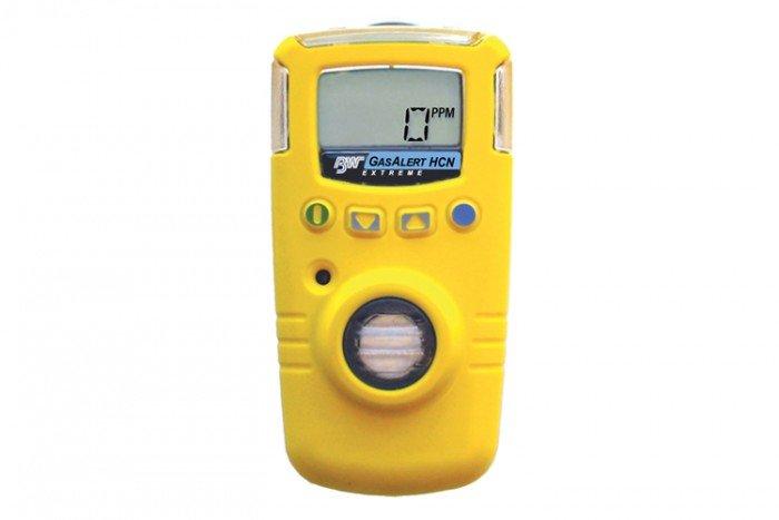 BW GasAlert Extreme HCN Gas Detector (Yellow)