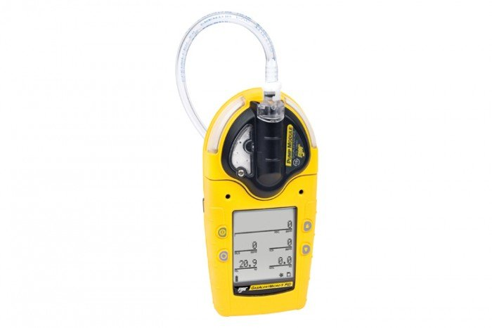 BW GasAlertMicro 5 PID (Pumped) LEL(F) O2 CO+H2S VOC(PID) Gas Detector (Rechargeable Battery)
