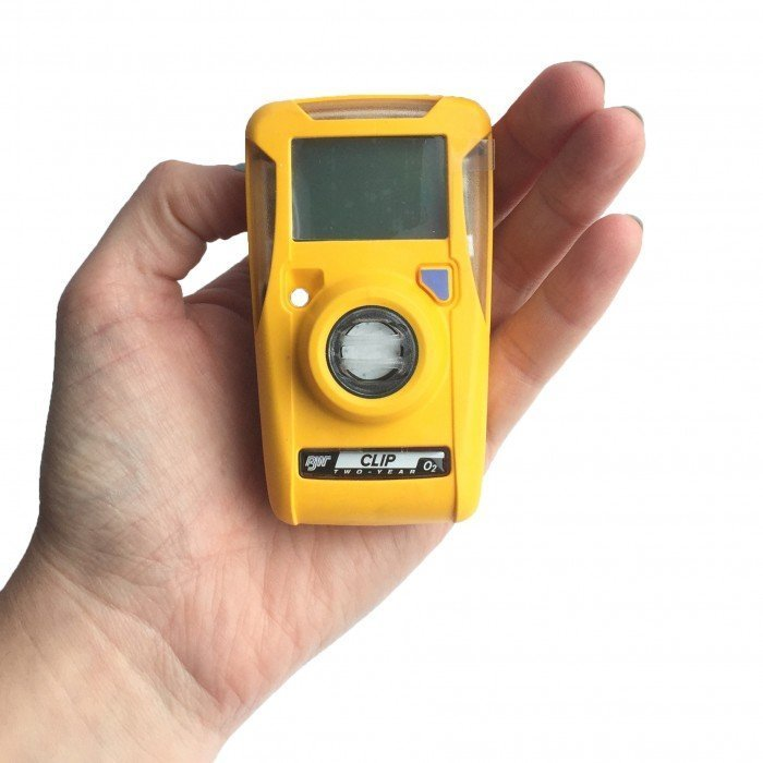 BW Clip 2 Year O2 Disposable Handheld Gas Detector (BWC2-X)