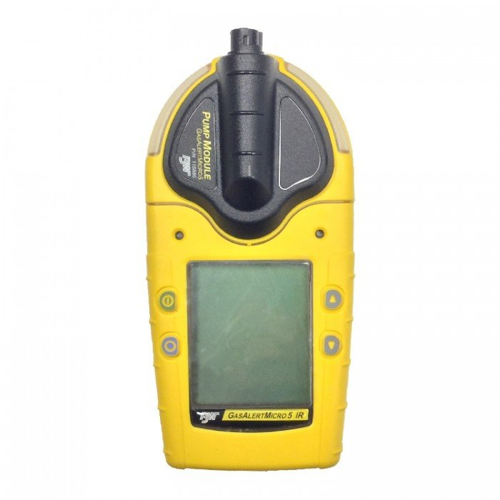 BW GasAlertMicro 5 (Pumped) LEL(F)/O2/H2S/CO Gas Detector with Rechargeable Battery