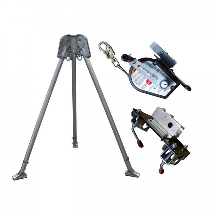 Abtech Confined Space Kit - Tripod/30m Winch and Brackets