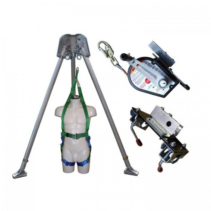 Abtech Tripod/ 30m Winch/ Brackets and Rescue Harness