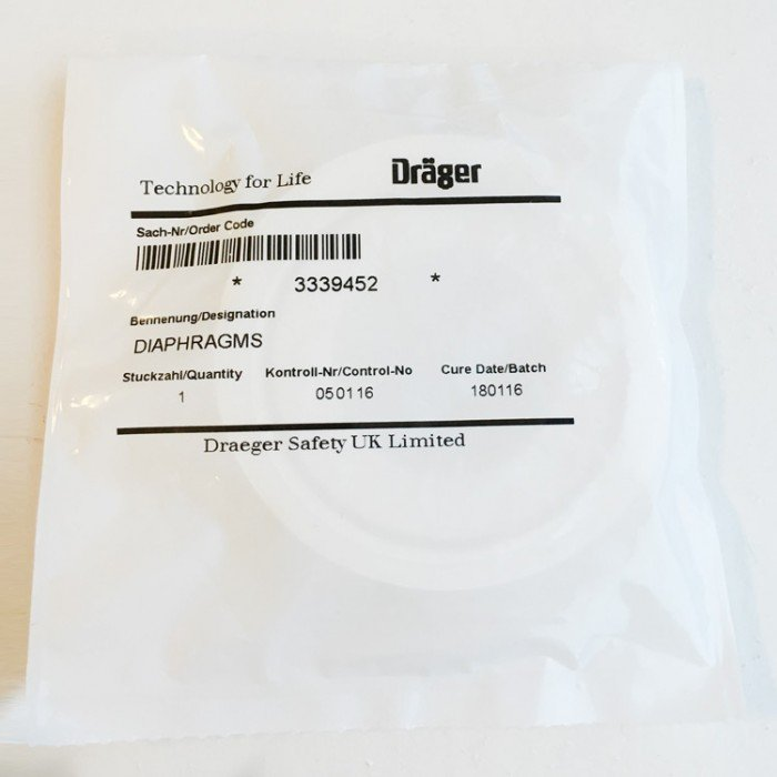 Drager Diaphragm