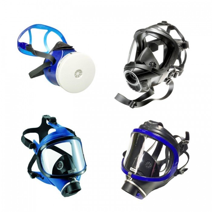Drager X-plore Facemasks for X-plore 8500/8700 Powered Air-Purifying Respirators