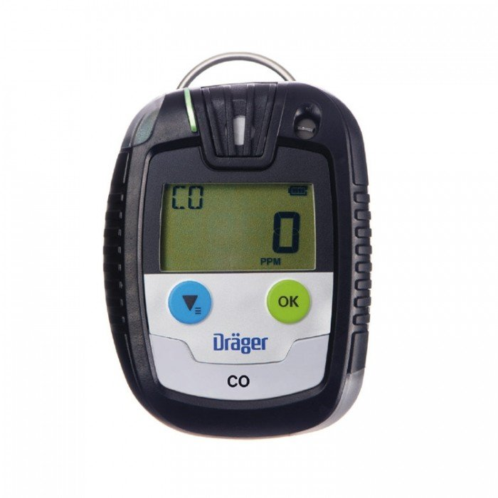 Drager Pac 6500 Reusable Single Gas Detector