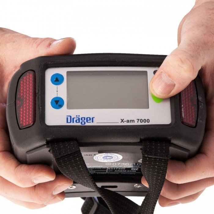 Drager X-am 7000 Gas Detection Kit Pump/DataLog CatEx/O2/CO/H2S
