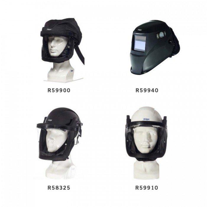 Drager X-plore 8000 Helmets & Visors for Powered Air Respirators