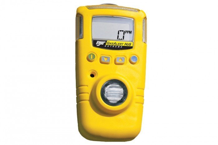 BW GasAlert Extreme H2S Gas Detector (Yellow)