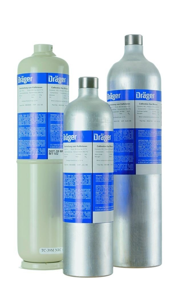 Drager 58L Ammonia - NH3/nitrogen 50ppm Calibration Gas