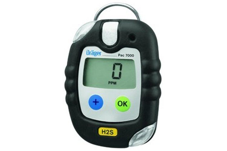 Drager - Pac 7000 Hydrogen Sulphide (H2S) Personal Gas Detector