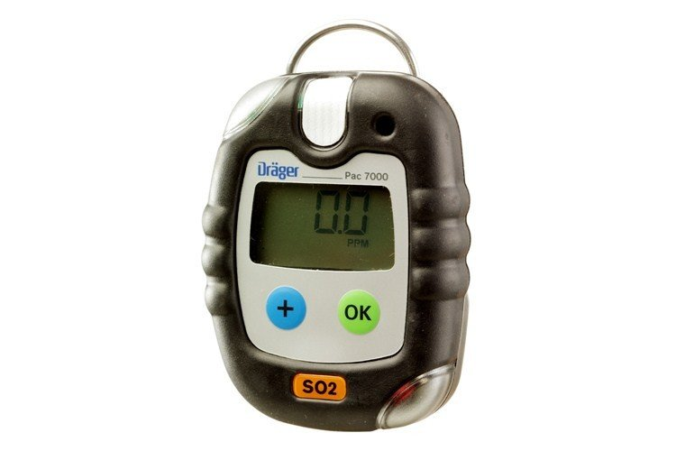 Drager - Pac 7000 Sulfur Dioxide (SO2) Personal Gas Detector