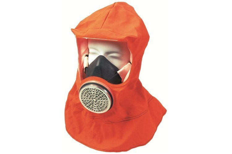 Msa Smoke Hood Trainer Without Filter Holder B1446021
