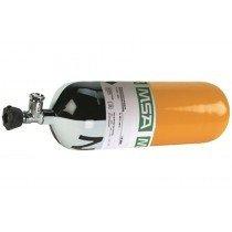 MSA 6.8L 300 Bar Composite Cylinder w/ Flow Restrictor (Valve/Gauge/30 yrs)