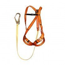 MSA Superlight EN Harness (Large) c/w 2m Single-Leg Lanyard