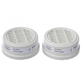 Drager Bayonet Particle Filters (Twin-Filters)