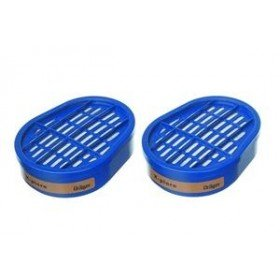 Drager Bayonet Gas Filters (Twin Filters)