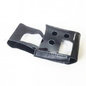 BW Black Leather/PVC Carrying Holster for GasAlert MicroClip XL and XT