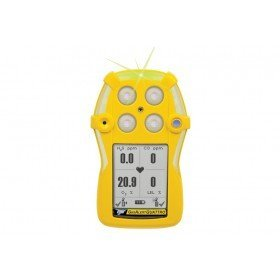 BW GasAlert Quattro LEL(F)O2 H2S CO Gas Detector (Rechargeable Battery)