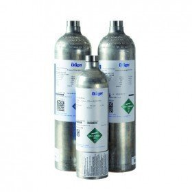 Drager Calibration Gas - 58L Bottle