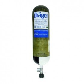 Drager 9L 200 Bar - Carbon Composite Cylinders