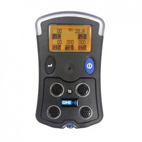GMI PS500 Multi Gas Detector (Pumped and Diffusion) with Datalogging and Long-Duration Battery