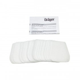 Drager Bayonet Pre-Filter and Retainer