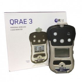 QRAE 3 Multi Gas Detector - LEL / O2 / H2S / CO with Rechargeable Battery (Non-Wireless)
