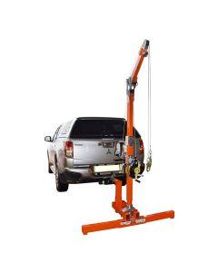 Abtech Vehicle Hitch Mount/Upper Davit/Lower Davit/30m Winch