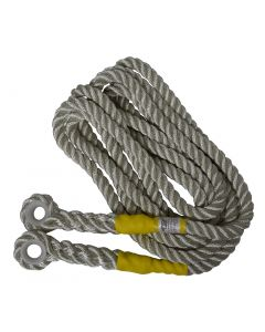Abtech 16mm of Nylon Rope c/w Eye Each End