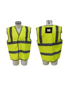 Abtech Yellow Hi Vis Jacket for Harness