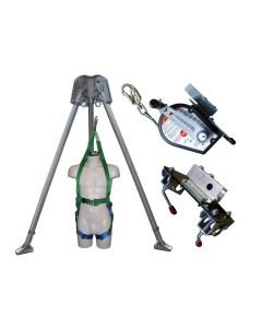 Abtech Tripod/ 30m Winch/ Brackets and Rescue Harness