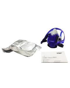 Drager X-plore 3300 Half Mask (Medium) c/w 1 Pair of A2B2P3 Filters
