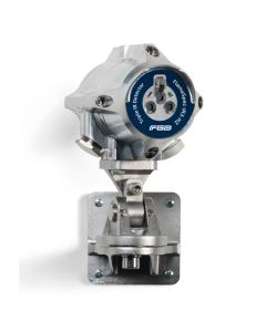 Stainless Steel FGD Flame Detector with blue sticker to indicate Triple IR3 Detector