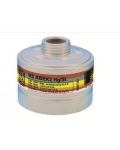 MSA 93 ABEK CO NO Hg P3 Filter