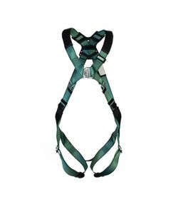 MSA V-FORM HARNESS front facing with metal buckle