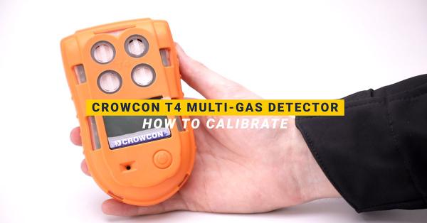 How Do I Calibrate the Crowcon T4 Multi-Gas Detector?